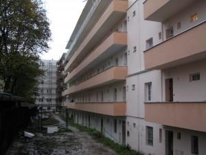Rekonstrukce fasády, Staňkova, Brno