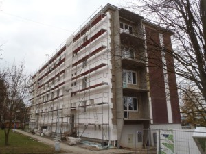 Revitalizace BD Mokrá 303, 304