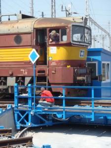 Rekonstrukce severní točny - ČD Cargo, Břeclav