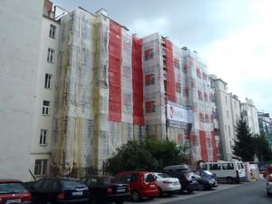 Revitalizace BD - Úvoz 17, Brno